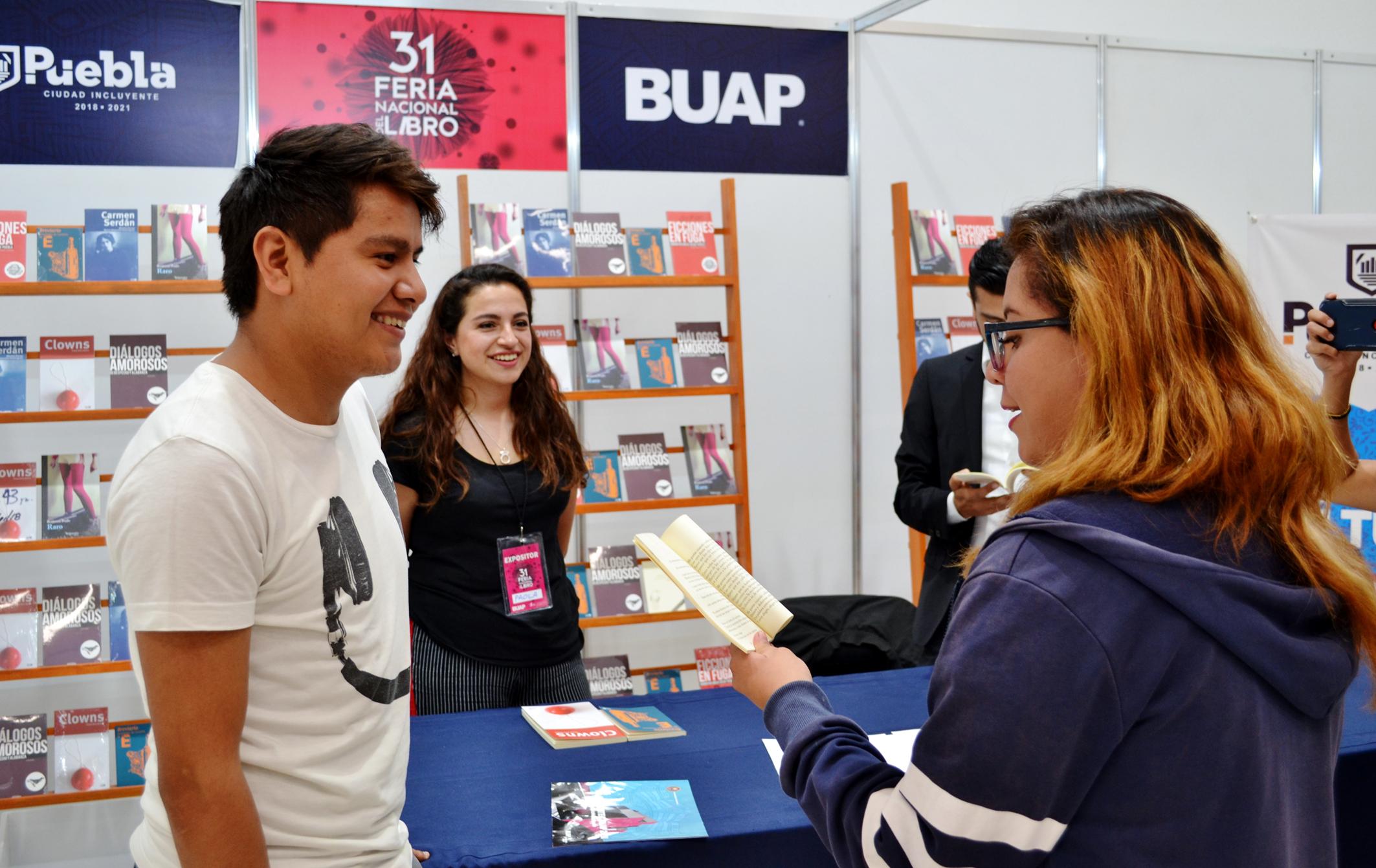 Participa IMACP en la Feria Nacional del Libro de la BUAP