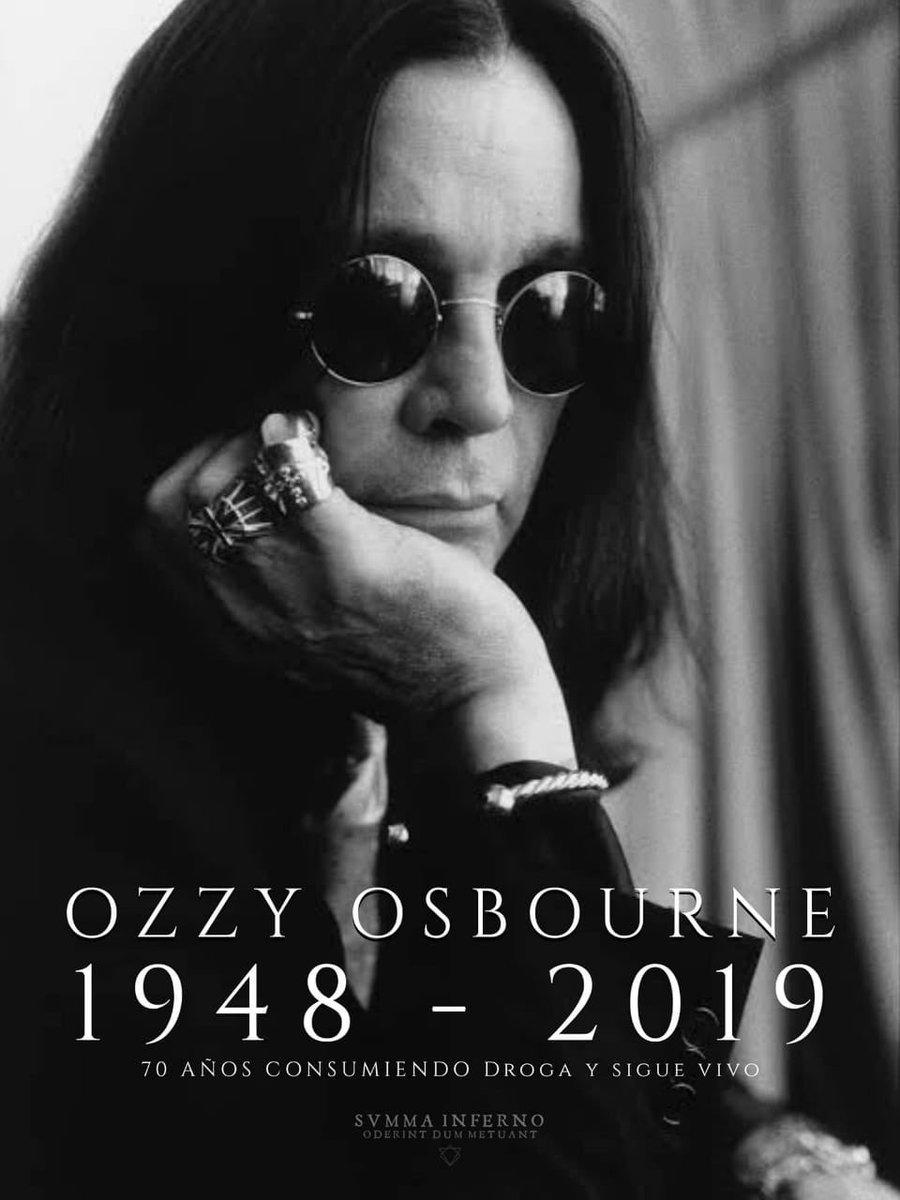 Échale un ojo a ésta noticia de Ozzy Osbourne