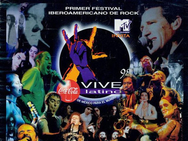 A 21 años del primer Vive Latino