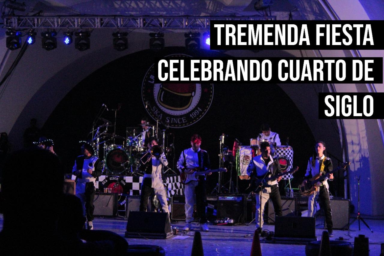 TREMENDA FIESTA CELEBRANDO CUARTO DE SIGLO | 25 ANIVERSARIO DE LA TREMENDA KORTE
