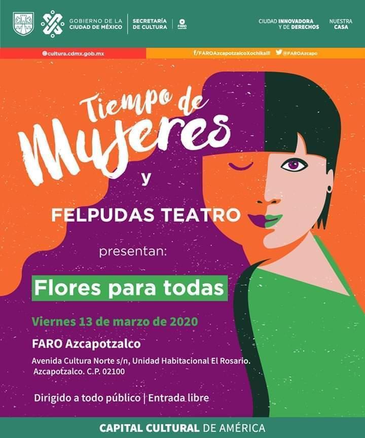 Flores para todas en Faro Azcapotzalco