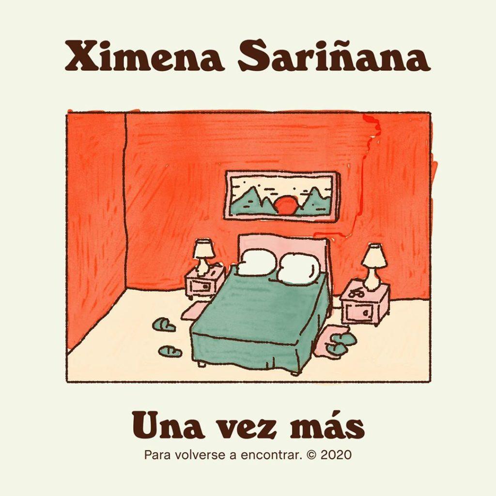 """Portada del sencillo """"Una vez más"""" de Ximena Sariñana"""