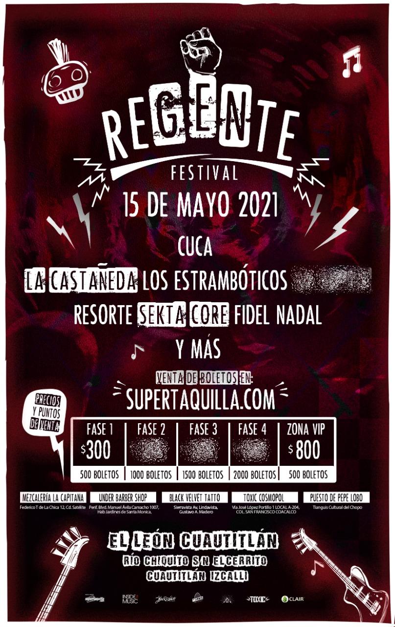 Festival Regente nos trae su primera edición