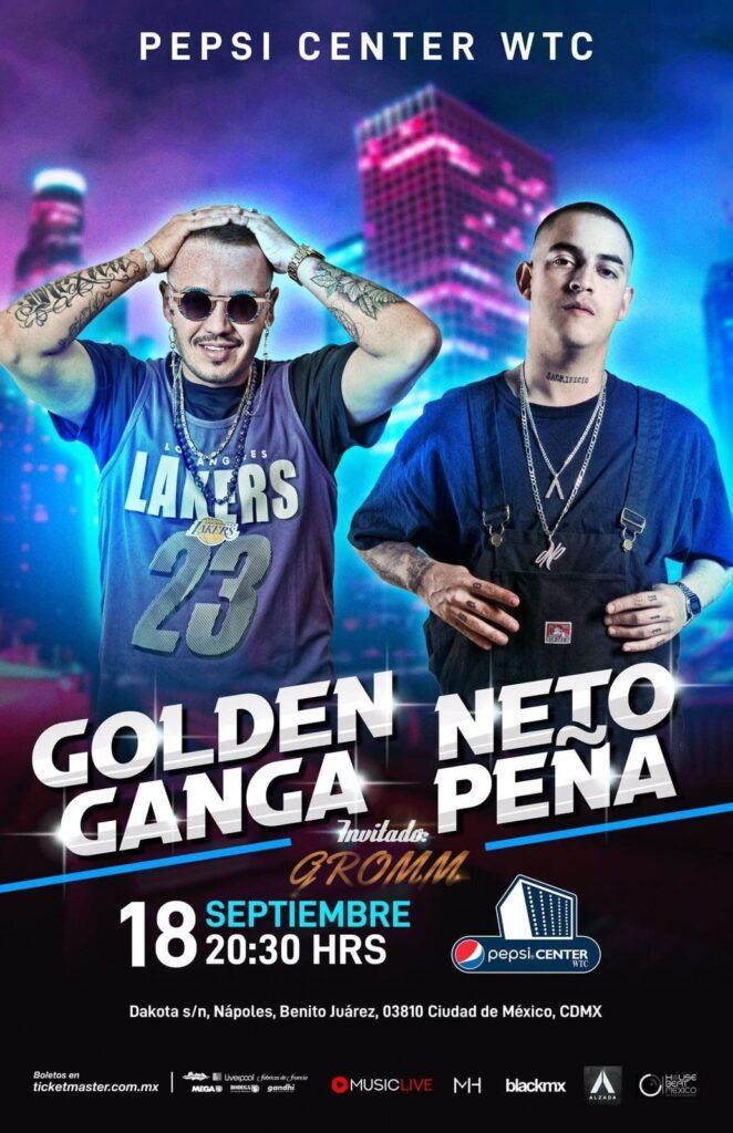 Golden Ganga y Neto Peña en la CDMX